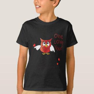 Owl Love You  Always Valentine T-Shirt