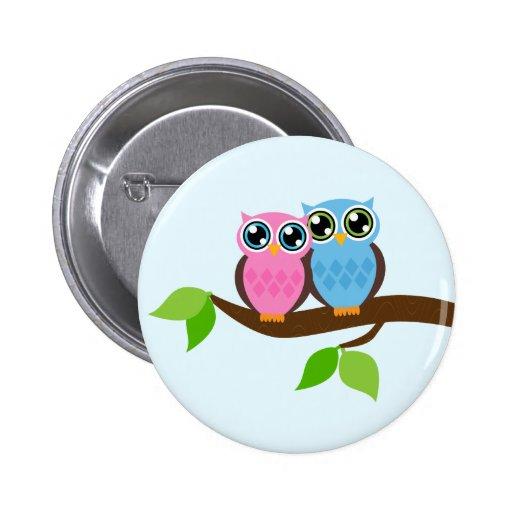Owl Love You Button