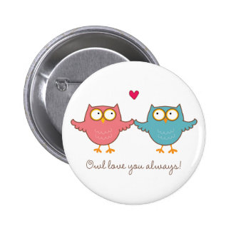 owl love you pin