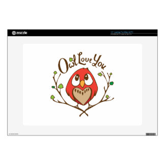 Owl Love You Decal For Laptop
