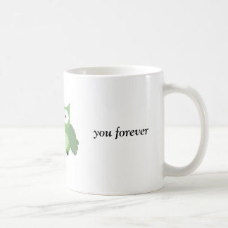 owl love you forever coffee mugs