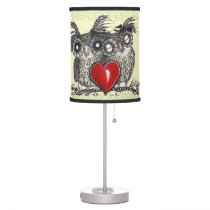 Owl Love You Forever Table Lamp