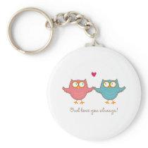 owl love you keychain