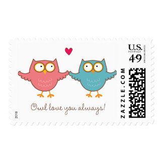 owl love you postage