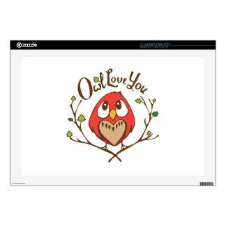 Owl Love You Skins For Laptops