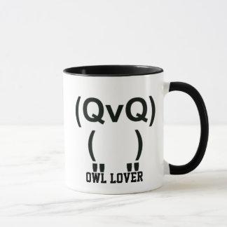Owl Lover Computer Symbol Mug