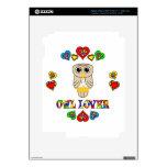 Owl Lover iPad 3 Decals