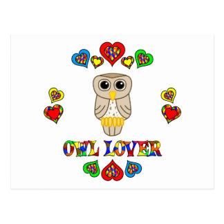 Owl Lover Postcard