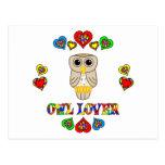 Owl Lover Postcards