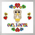 Owl Lover Poster
