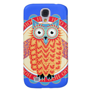 Owl Lover's Cute Colorful Night Owl Galaxy S4 Cover
