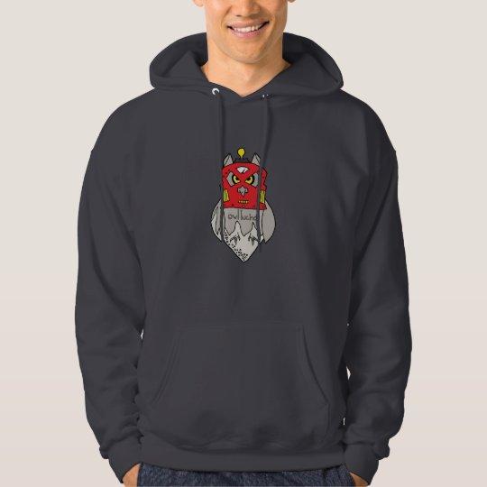 Owl Lucha Robot Hoodie