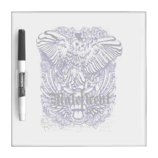 owl mafeficent affected design dry erase whiteboard