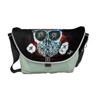 Owl Magic - Rickshaw Messenger Bag