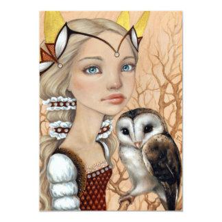 Owl Maiden Card