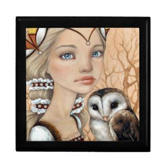 Owl Maiden Jewelry Box
