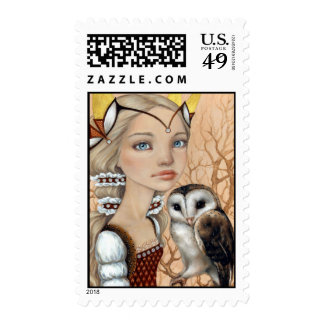 Owl Maiden Postage