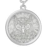 Owl Mandala Necklace
