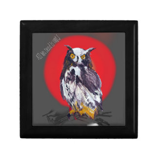 Owl Mania Collection Jewelry Box