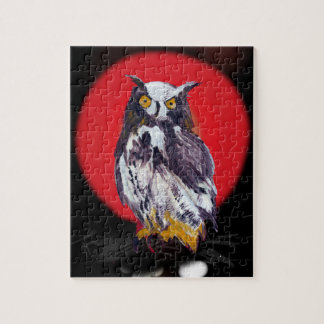 Owl Mania Collection Jigsaw Puzzle