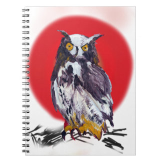 Owl Mania Collection Notebooks
