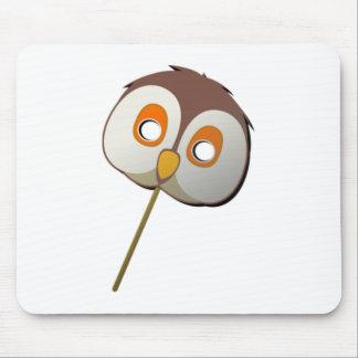 Owl Mask Mousepad