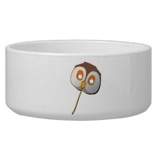 Owl Mask Pet Bowl