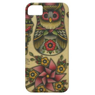 owl matroyshka pinwheel iPhone 5 cover