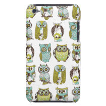 owl meeting barely there iPod cover