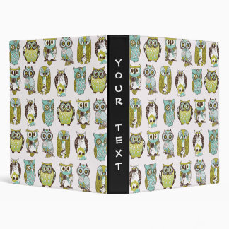 owl meeting binder
