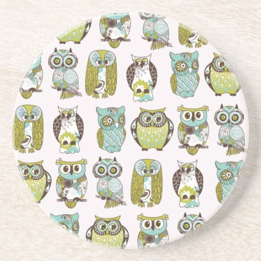 owl meeting coaster