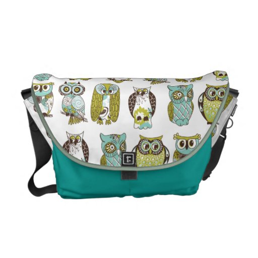 owl meeting courier bag