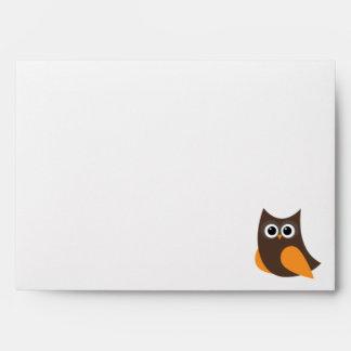 Owl Meeting Envelope