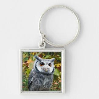 Owl Metal Keychain