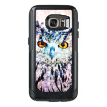 Owl Mixed Media OtterBox Samsung Galaxy S7 Case