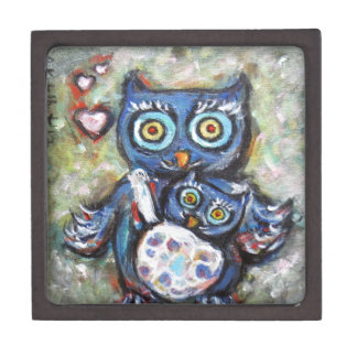 Owl Mom & Baby Love Premium Gift Boxes