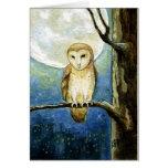 Owl Moon Greeting Card
