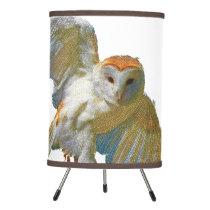 Owl Mosaic, Tripod Lamp