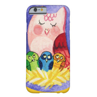 Owl mother of triplets barely there iPhone 6 case