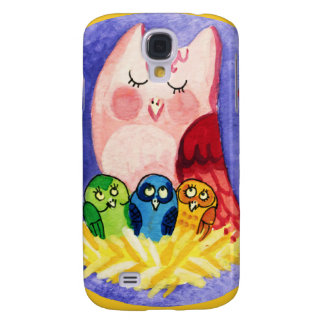 Owl mother of triplets galaxy s4 case