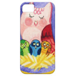 Owl mother of triplets iPhone 5 cover
