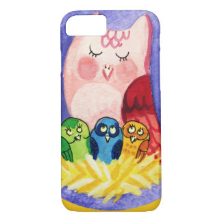 Owl mother of triplets iPhone 7 case