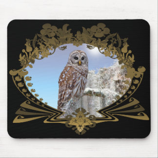 Owl Mouse Pad