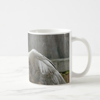 owl classic white coffee mug