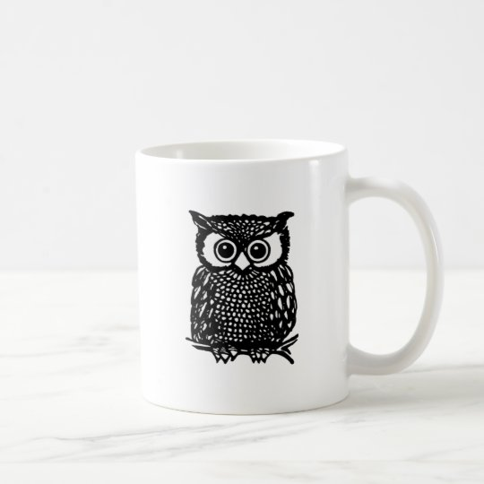 Owl Mug. Coffee Mug
