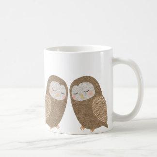 Owl Mug Cute Owl Couple Love Graphic Mug For Her