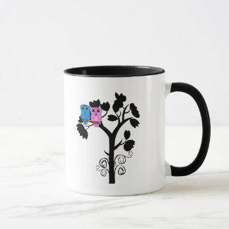 Owl Mug - Love Birds - Gifts for Couple