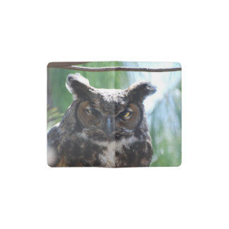 Owl Pocket Moleskine Notebook Cover With Notebook