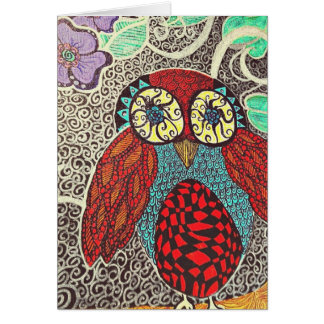 owl notecards blank stationery note card