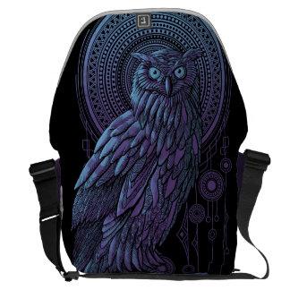 Owl Nouveau II Courier Bag